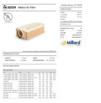 Millard Filters MK82034